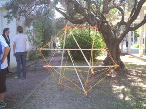Icosaèdres en tenségrité